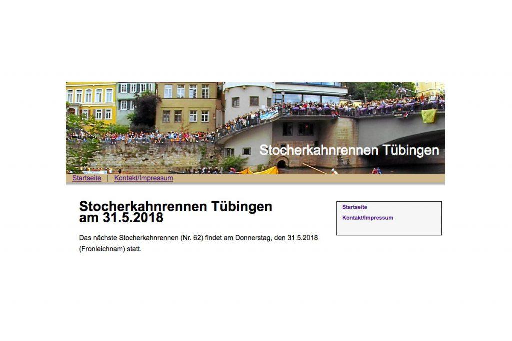 31.05.2018 Tübinger Stocherkahnrennen